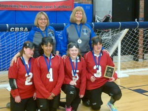 Jr Women's Goalball Team