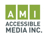 AMI Accessible Media logo