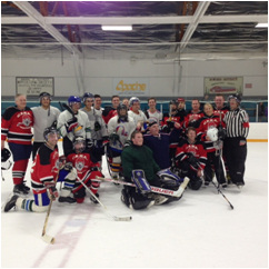 Edmonton Hockey Team Photo