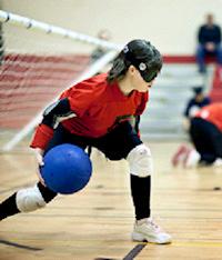 Children's goalball