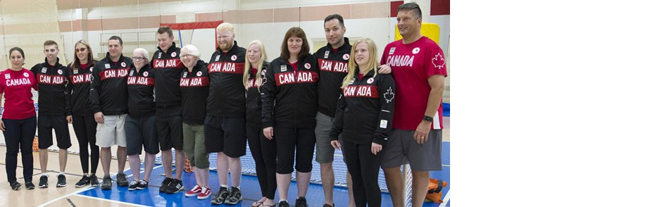 Goalball team for Rio 2016