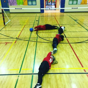Goalball Team makes a 7