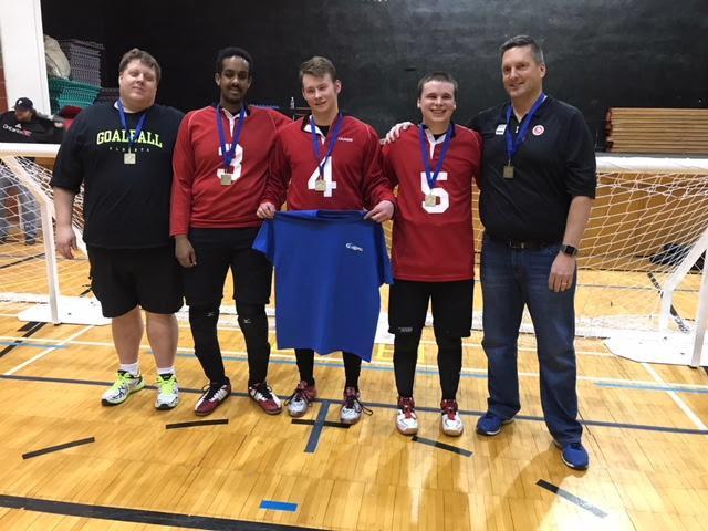 Men's Goalball team